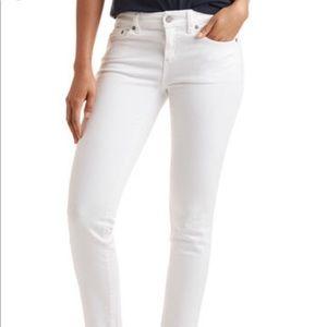 Vineyard Vines Cropped White Jeans